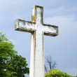 Cross in graveyard. — Stock Photo #9311915