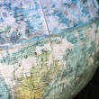 Close-up of old globe. — Stock fotografie