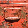 Old metal storage container. - Stock Photo