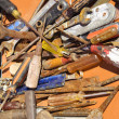 Old rusted tools - Stock Photo