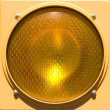 Closeup of stoplight. — ストック写真