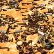 Old rusty screws and parts. — Stock Photo #9312070