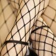 Royalty-Free Stock Photo: Fishnet stockings.