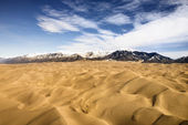Great Sand Dunes NP, Colorado. — Stock Photo