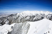 Snowy mountain landscape, Colorado. — Stock Photo