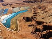 Tailings pond in rural Utah. — Stock Photo