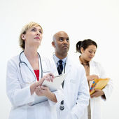 Male and female doctors. — Stock Photo