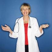 Smiling doctor. — Stock Photo
