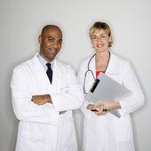 Portrait of doctors. — Stock Photo