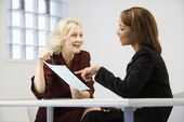 Businesswomen at work — Stock Photo