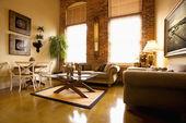 Oturma odası iç — Stok fotoğraf