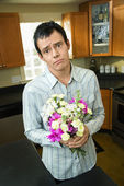 Man apologizing — Stock Photo