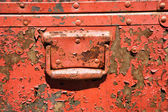 Old metal storage container. — Stock Photo