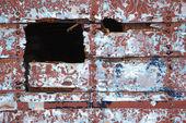 Peeling paint on wall. — Stock Photo