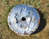 Old cog on ground. — Stock Photo