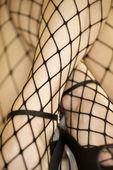 Fishnet stockings. — Stock Photo
