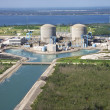 Nuclear power plant. - Foto Stock