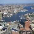 Baltimore Harbor. - Stock Photo