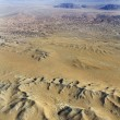 Stock Photo: Desert with mountains.