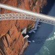 Glen Canyon Dam Bridge. — Stock Photo #9329353