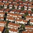 Stock Photo: Suburb aerial.