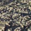 Stock Photo: Rocky terrain.