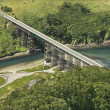 Stock Photo: Shoreline Highway bridge.