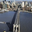 Stock Photo: Brooklyn Bridge, NYC.