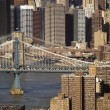 Foto Stock: Manhattan Bridge, NYC.