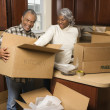 Couple packing boxes. — Foto Stock #9329899