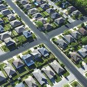 Texas suburb. — Stock Photo