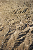 Desert mountain terrain. — Stock Photo