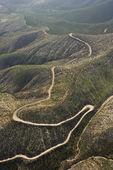 Winding scenic road. — Stock Photo