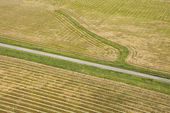 Cropland aerial. — Stock Photo