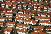 Suburb aerial. — Stock Photo