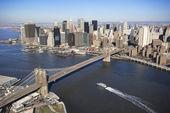 Brooklyn Bridge, NYC. — Stock Photo