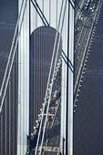 Verrazano-Narrow's Bridge. — Stock Photo