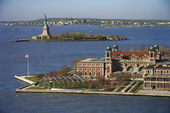 Ellis Island. — Stock Photo