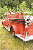 Old fire engine. — Stock Photo