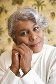 African American woman. — Стоковое фото