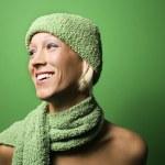 Smiling woman. — Stock Photo