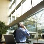Businessman on Cellphone. — Stock Photo #9330288