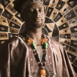 Stock Photo: Young AfricAmericMin Traditional AfricClothing