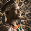 Young African American Man in Traditional African Clothing — Stock Photo #9330412