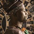 Young African American Man in Traditional African Clothing — Stock Photo