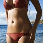 Woman on Maui beach — Stock Photo #9330728