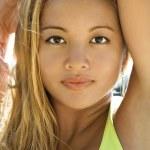 Beautiful woman portrait. — Stock Photo