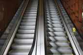 Escalators. — Stock Photo
