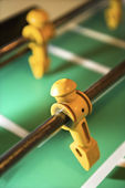 Foosball figurine. — Stock Photo
