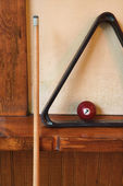 Billiard still life. — Stock Photo
